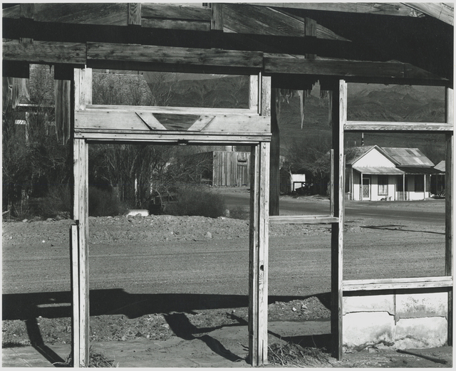 , 'Scene Framed by Building Under Construction,' 1995, Be-hold