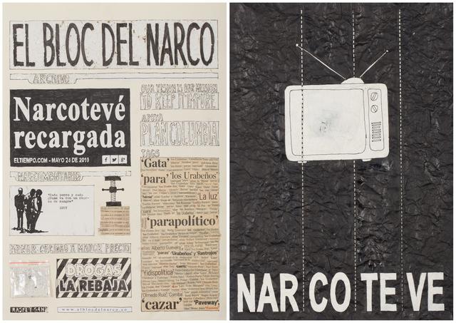, 'El Bloc Del Narco #15,' 2016, Steve Turner