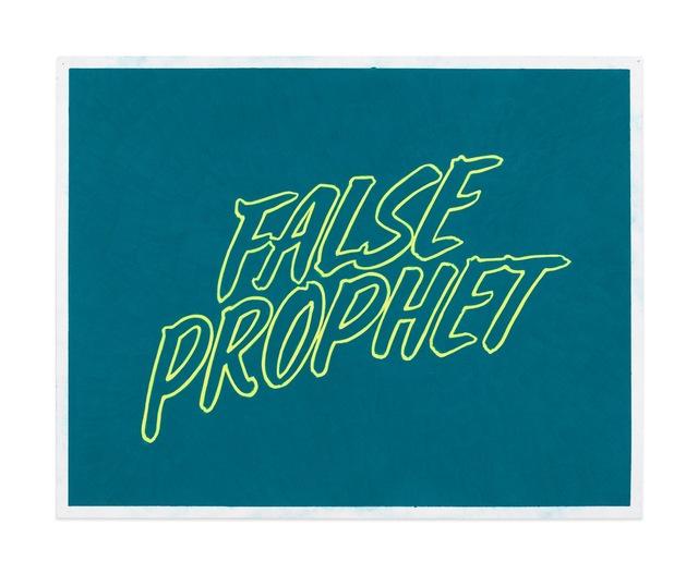 , 'False Prophet (Study),' 2018, Gavlak