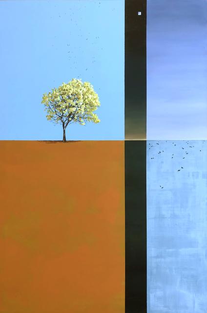 Holly Elander, 'Gone', 2019, Painting, Acrylic on panel, LAUNCH LA
