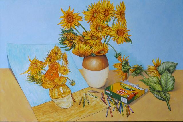 , 'Sun Flowers x 2 ,' , Zhou B Haus der Kunst