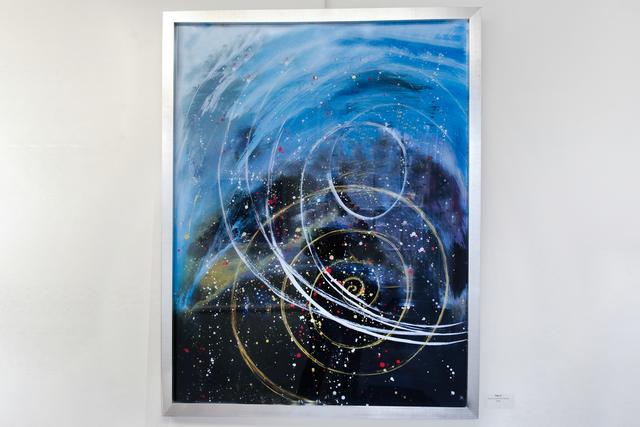 Arica Hilton, 'Tides II', 2020, Mixed Media, Acrylic on Acrylic reverse painting, Hilton Asmus