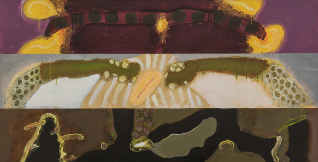 , 'The Sun Arch & The Ice Bride Are Above The Lilac Walk,' 1979, Hollis Taggart