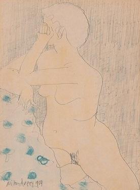 , 'Untitled (Nude),' 1959, AbExArt