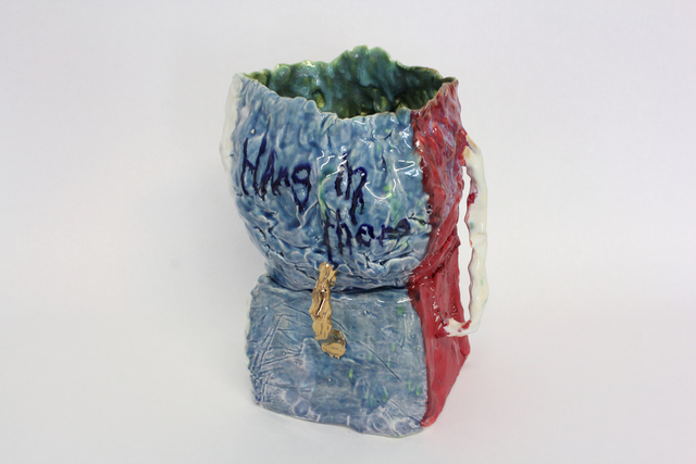 , 'Affirmation Pot: Hang In There,' 2014, Galerie Lefebvre & fils