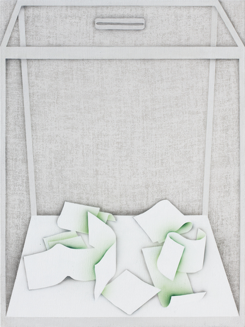 , 'Donation Box,' 2018, DC Moore Gallery