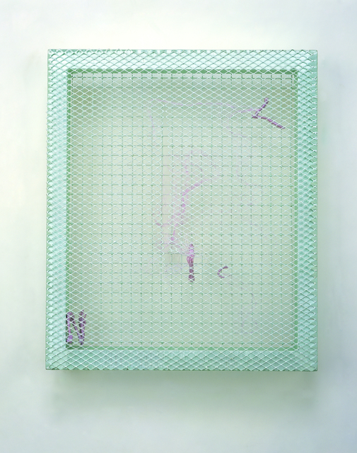, 'Green meshes,' 2013, NUNU FINE ART