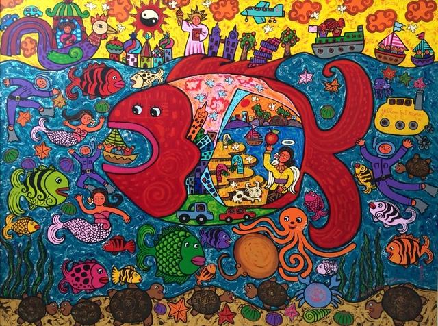 , 'Lovely Giant Fish,' 2013, BLINK Gallery