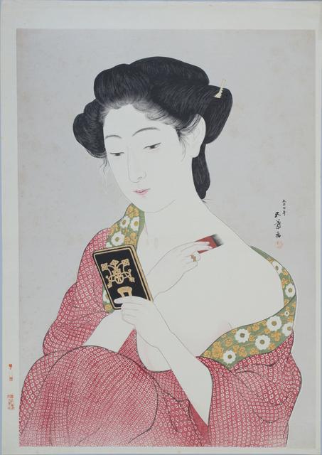 , 'Woman Applying Powder,' 1918, Sebastian Izzard LLC Asian Art