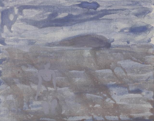 , 'The First Swim,' 2017, John Martin Gallery