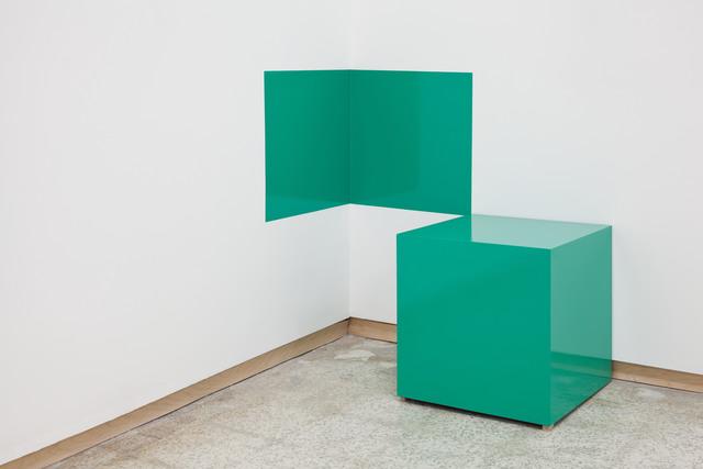 , 'Green Cube,' , Emerson Dorsch