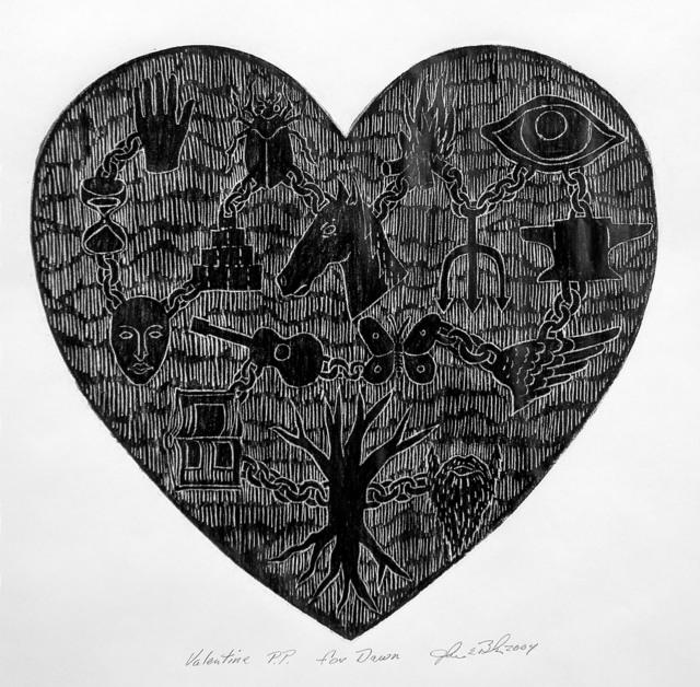 , 'Valentine,' 2004, Sylvia White Gallery