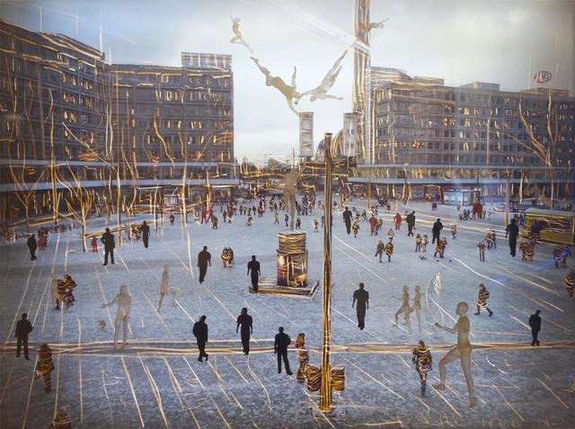 , 'Alexanderplatz,' 2012, Vision Neil Folberg Gallery