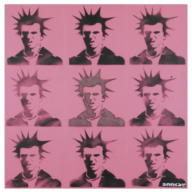 Banksy, 'Sid Vicious', ca. 2000, The Garage Amsterdam