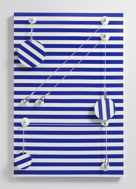 , 'Blue_Stripes,' 2016, Steve Turner