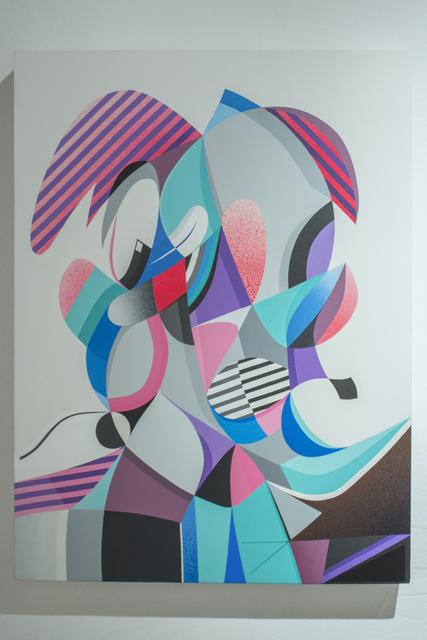 , 'Double Vision #1,' 2015, Pablo Cardoza Gallery