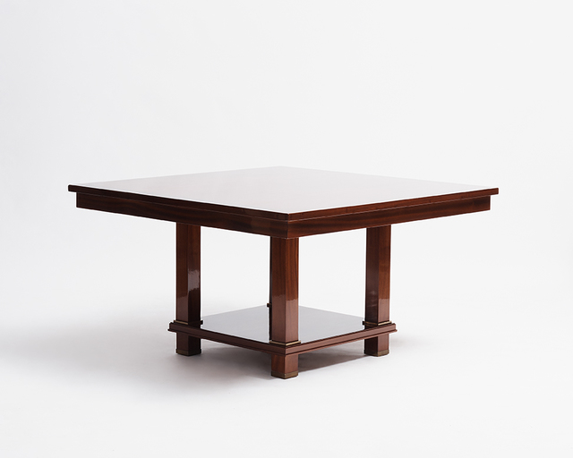 Jacques Adnet, 'Large Two-Tier Square Table (One of Two)', 1955, Maison Gerard