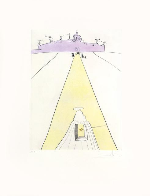 Salvador Dalí, 'Dieu, le temps, l'espace et le pape. (God, Time, Space and the Pope.)', 1974, Peter Harrington Gallery