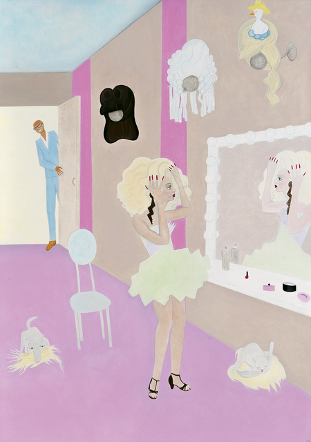 Elizabeth Fox, 'Alyssa and Rupaul in the Work-Room', Dowling Walsh
