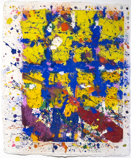 , 'Coincident Blue & Gold,' 1980, Heather James Fine Art