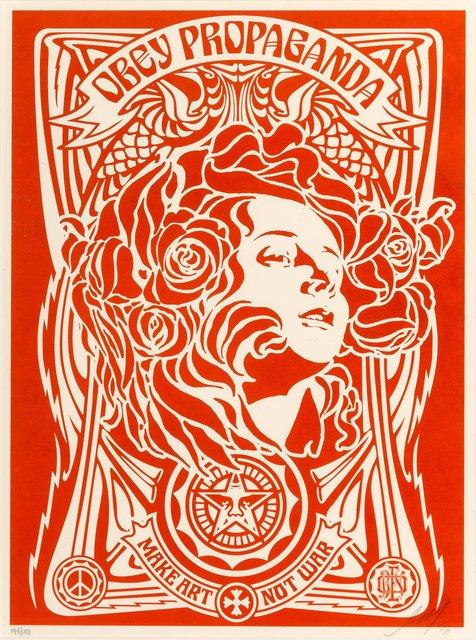Shepard Fairey, 'Nouveau Red', 2006, Heritage Auctions