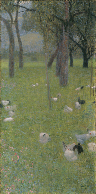 , 'After the Rain (Garden with Chicken in St. Agatha),' 1898, Belvedere Museum