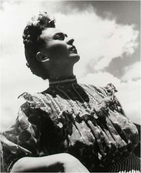 , 'Untitled - Frida Kahlo Looking Up,' 1946, Matthew Liu Fine Arts