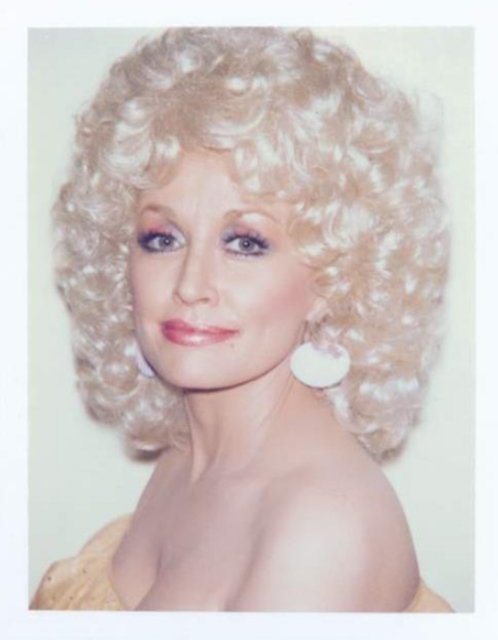 Andy Warhol, 'Andy Warhol, Polaroid Photograph of Dolly Parton, 1985', 1985, Photography, Polaroid, Hedges Projects