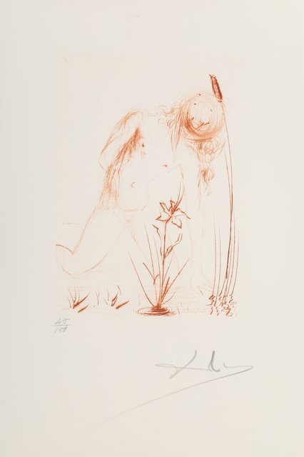 Salvador Dalí, 'Narcissus, from Album', 1968, Heritage Auctions