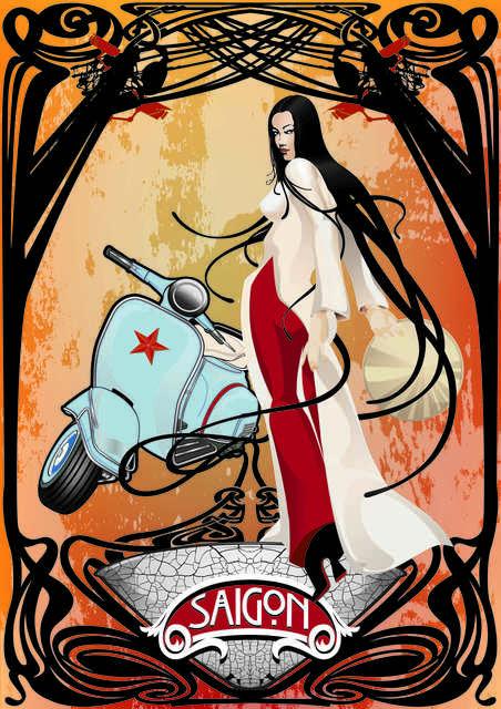 , 'Saigon Girl,' 2015, Addicted Art Gallery