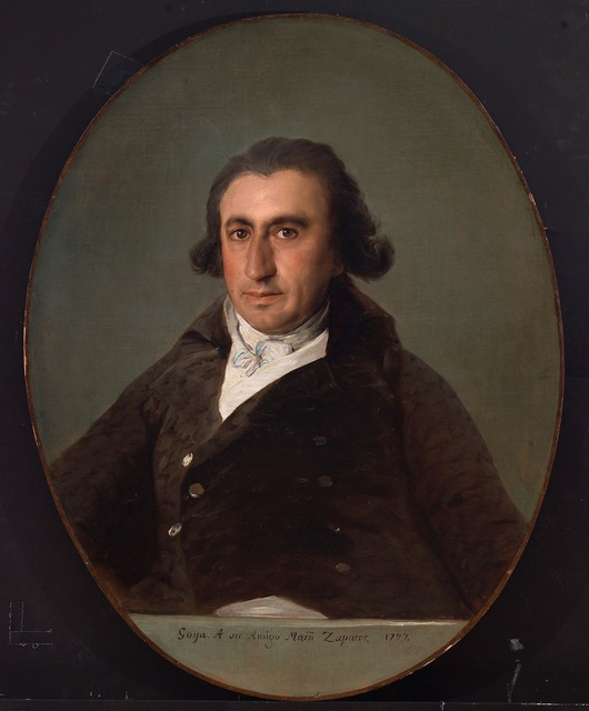 , 'Martín Zapater,' 1797, The National Gallery, London