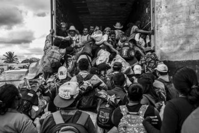 Migrant Caravan - Acayucan, Mexico 2018