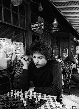 Daniel Kramer, 'Bob Dylan Playing Chess, Woodstock, New York', 1964, Staley-Wise Gallery