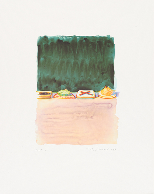 , 'Hors d'Oeuvres,' 1994, Paul Thiebaud Gallery