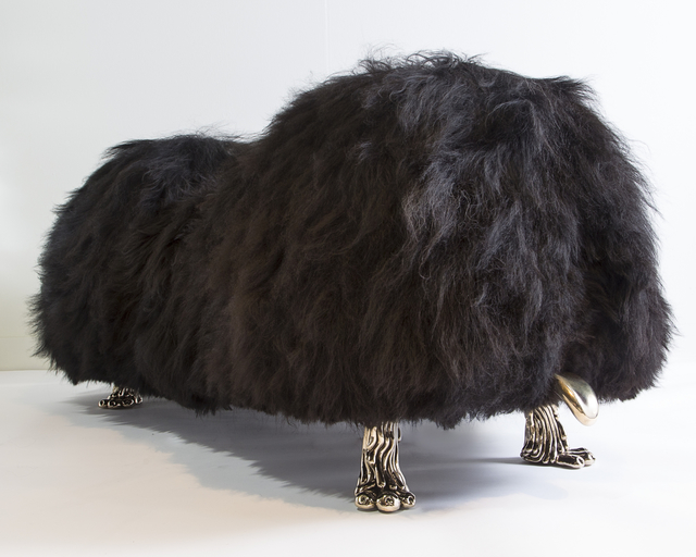 , 'Unique Hair Witch Project Mellow-hump Bench from the Beast Series,' 2015, R & Company