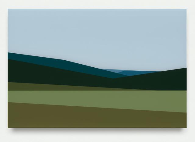 , 'Hills 1,' 2017, Krobath