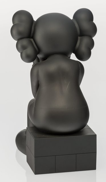 KAWS, 'Companion (Passing Through) (Black)', 2013, Other, Painted cast vinyl, Heritage Auctions