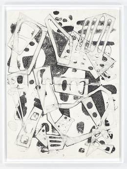 , 'Double Water Drawing 11/26/13 (B),' 2013, David Nolan Gallery