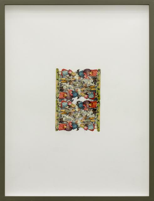 , 'Die-Cut (Hänsel und Gretel),' 2017, Galerie Crone