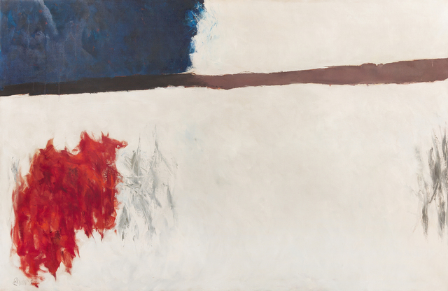 , 'Untitled (from the High Snow, Low Sun Series),' circa 1962-63, Hollis Taggart Galleries