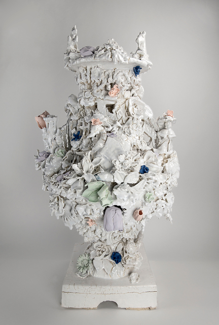 Anthony Sonnenberg, 'Campagna Vase (Drama Kween)', 2018, Conduit Gallery