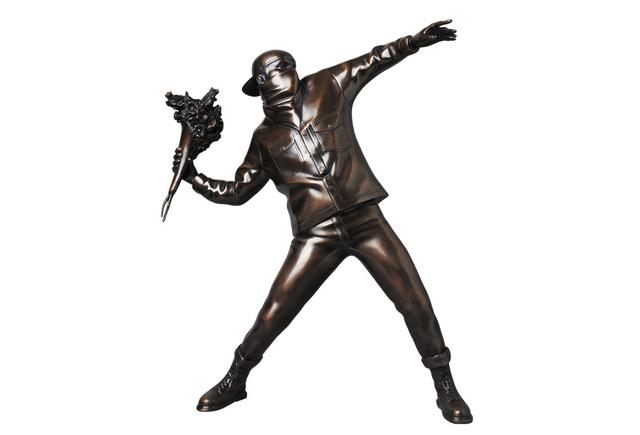Banksy, 'Flower Bomber (Bronze)', 2019, Sculpture, Bronze, Rite Gallery