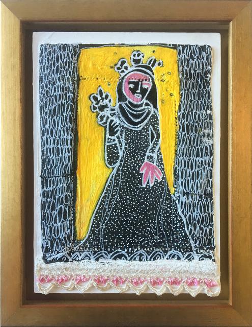 Julia Ledyard, 'St. Rose of Lima on Yellow', 2017, Ro2 Art