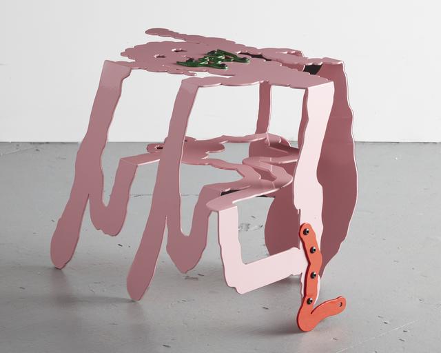 "Serban Ionescu, 'Unique ""Zaag"" sculptural side table', 2019, R & Company"