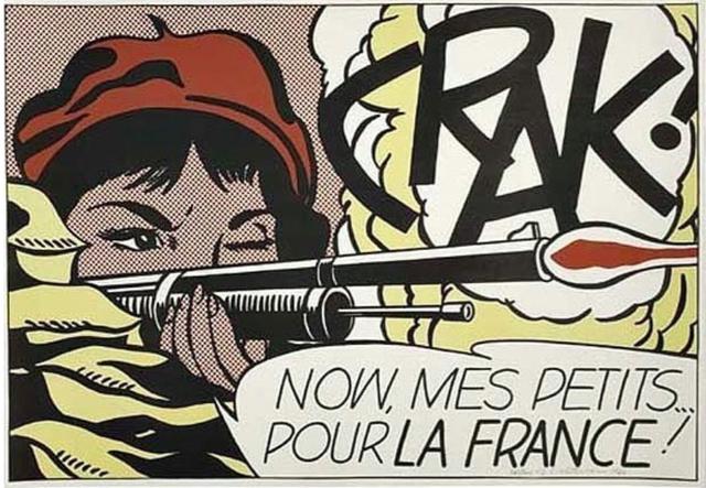 , 'Crak! Now, Mes Petits... Pour la France!,' 1964, BOCCARA ART