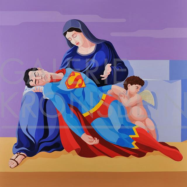 , 'La Pietà di Superman,' 2010, Galerie Kronsbein