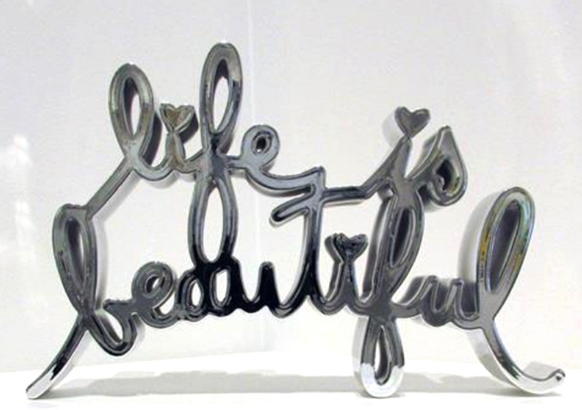 Mr. Brainwash, 'Life Is Beautiful - Hard Candy (Chrome)', 2017, Aurifer AG