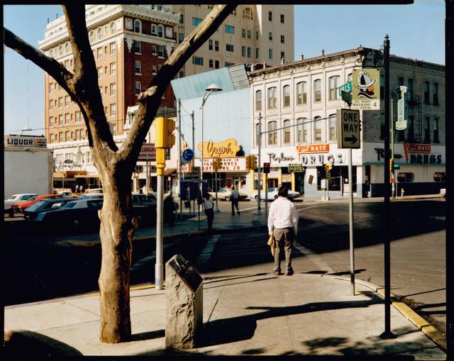 , 'El Paso Street, El Paso, Texas, July 5, 1975,' 1975, Edwynn Houk Gallery