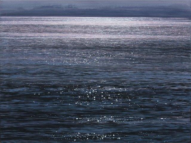 , 'Meeresoberfläche,' 2018, Galerie Thomas Fuchs