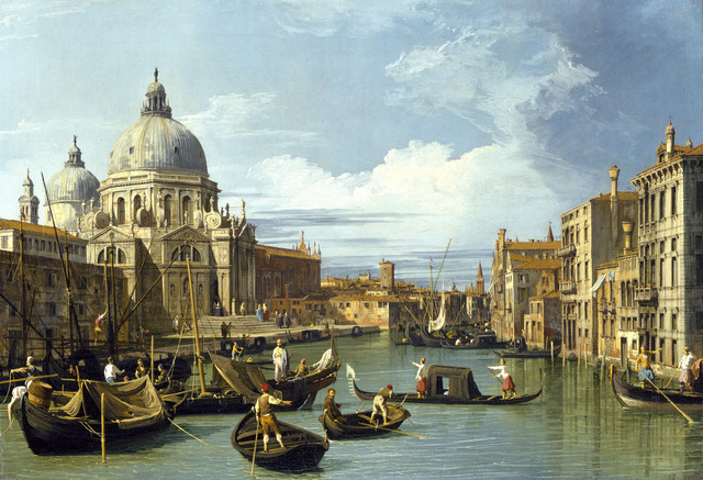 , 'Entrance to the Grand Canal,' 1730, Legion of Honor